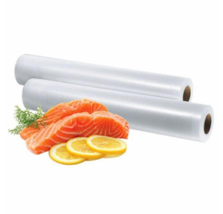 20cm x 6m Rolos de Vácuo Frisados para alimentos (2 rolos) do fabricante Sousvide Shop