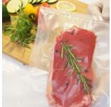 28cm x 6m  - 2 Rolos de Vácuo Frisados para alimentos Rolos de plástico para maquinas de embalar de www.sousvideshop.pt